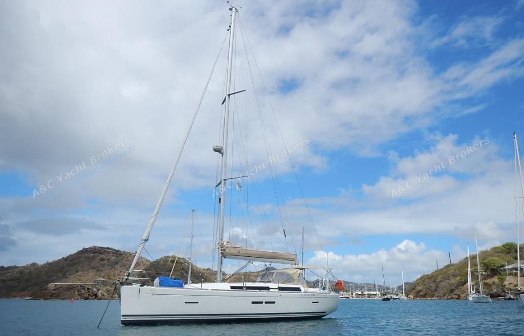 Dufour Yachts Dufour 405 : Au mouillage